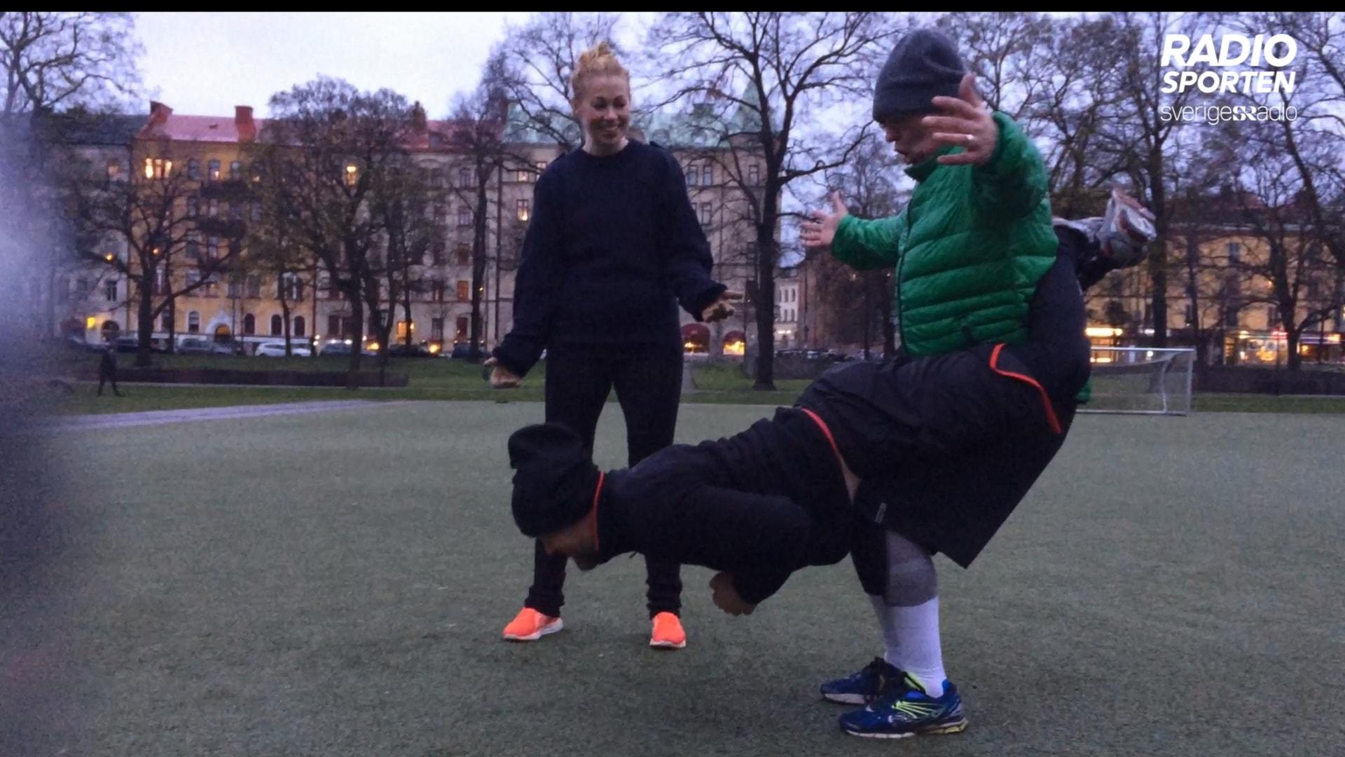 """Ruffie – tuff parträning inspirerad av kampsport: """"Det är svintungt!"""""""