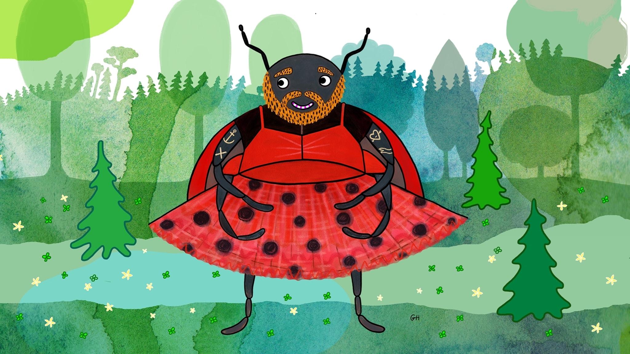 #Kielipuoli eläinten parissa: sudenkorennoista leppäkerttuihin ja jänösiin