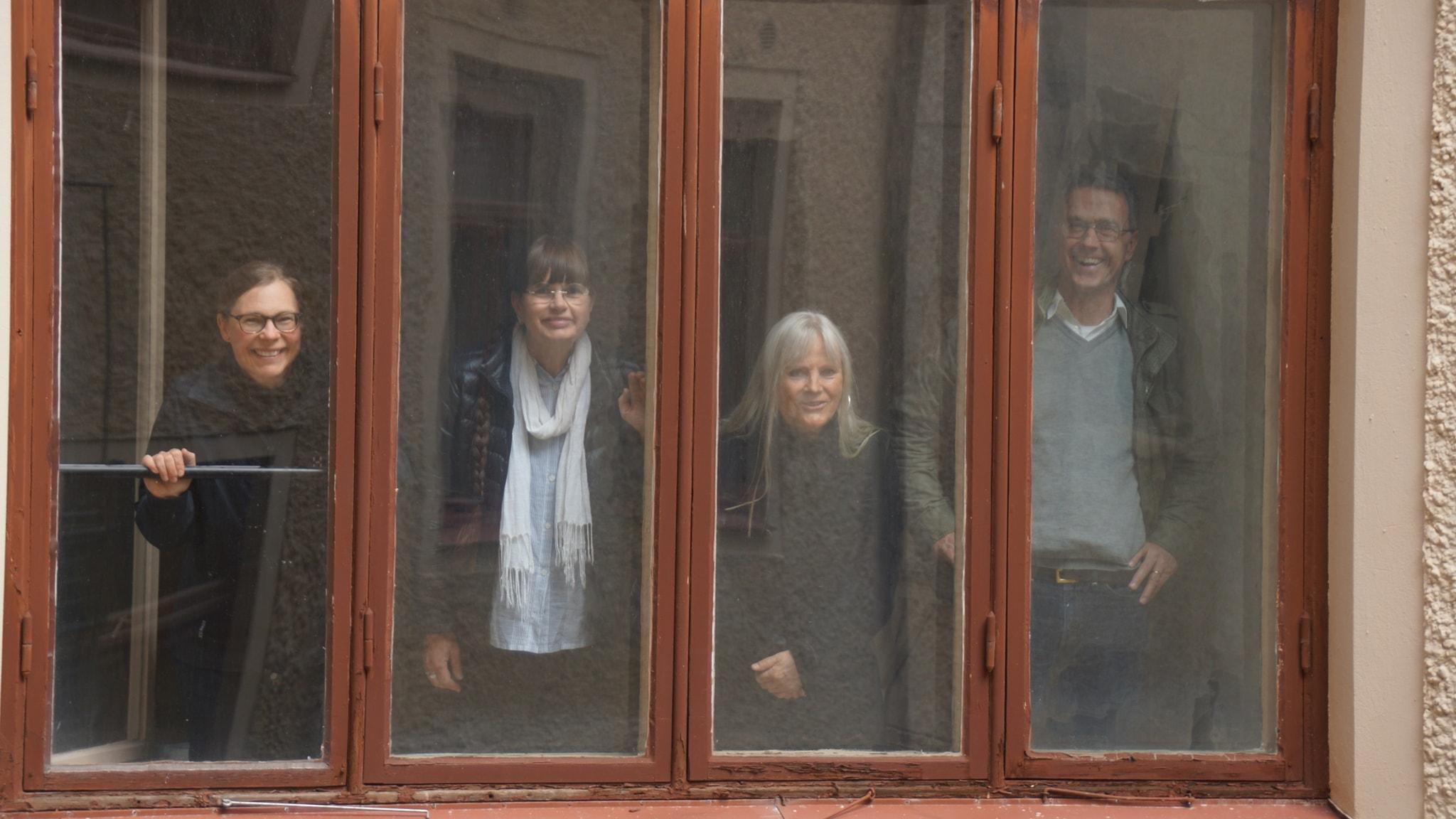 Fönstren är husets ögon