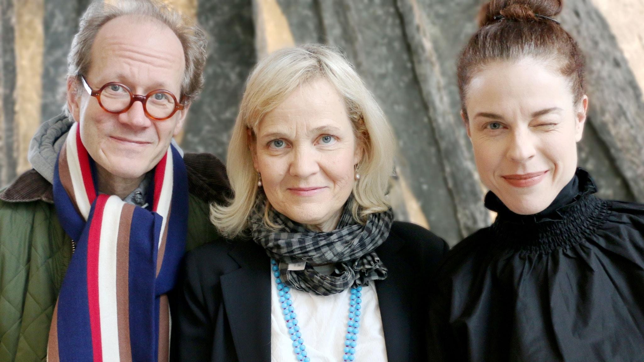 Jessika Gedin, Johan Hakelius och Gabriella Ahlström