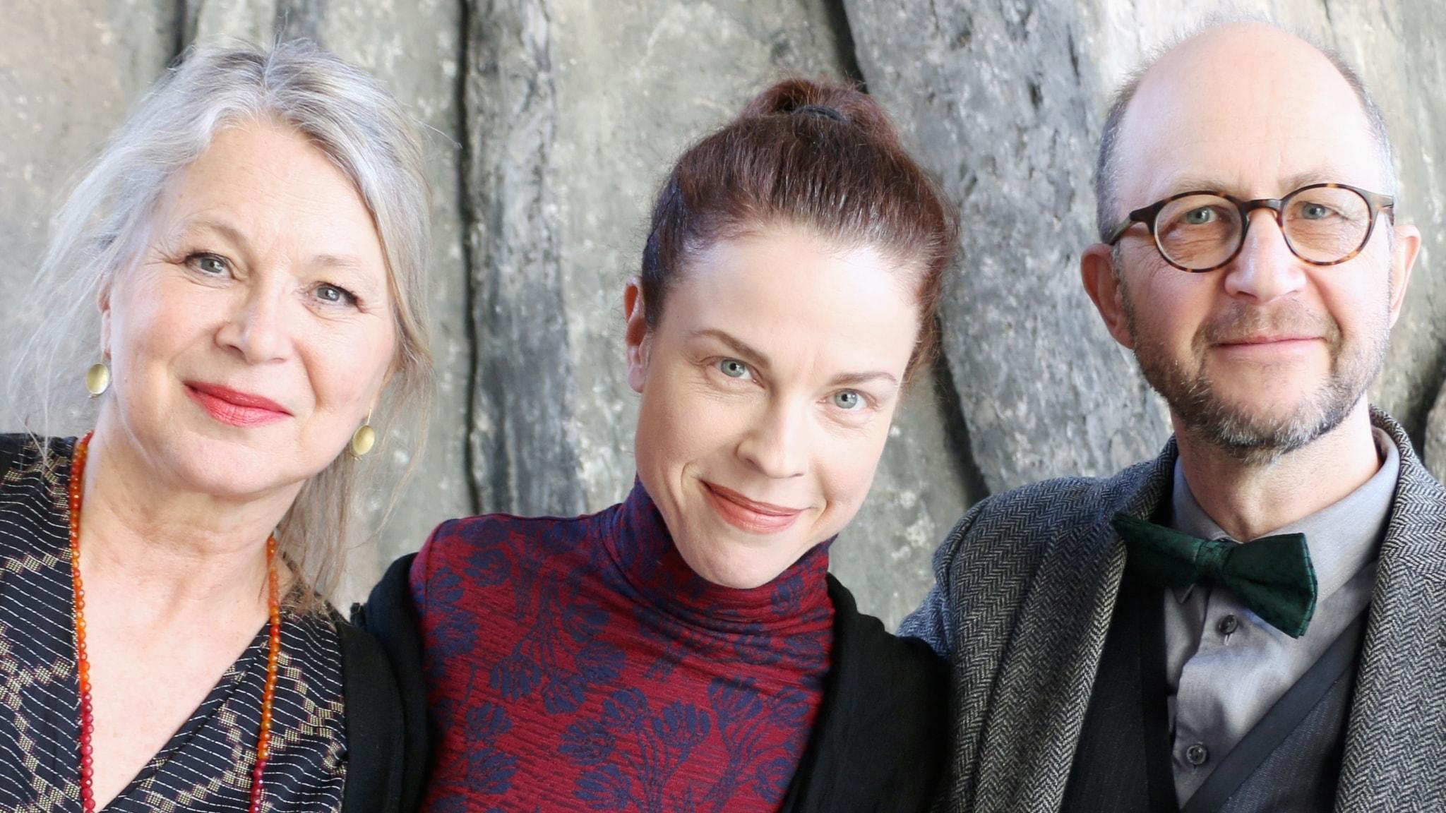 Helena von Zweigbergk, Per Naroskin och Jessika Gedin
