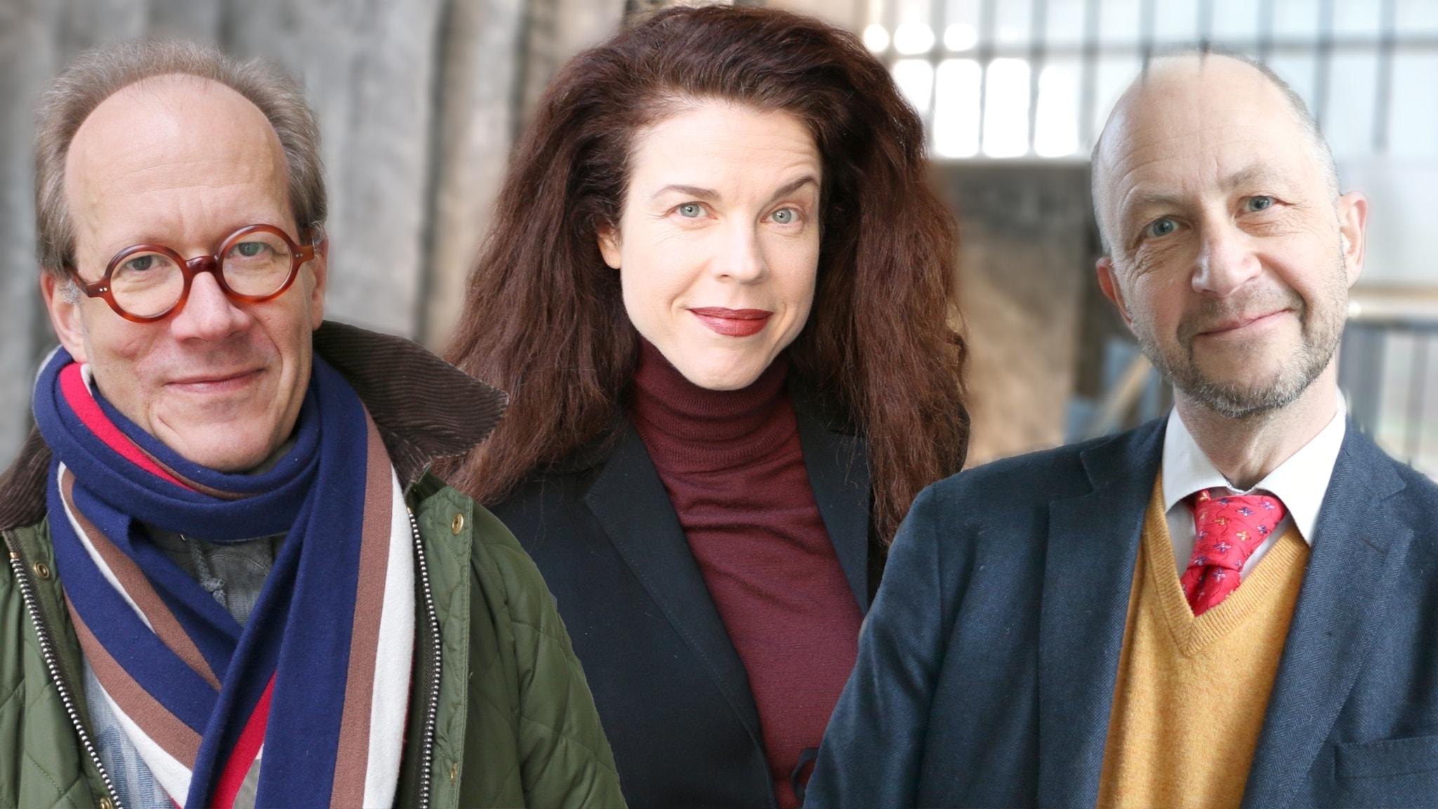 Johan Hakelius, Jessika Gedin och Per Naroskin