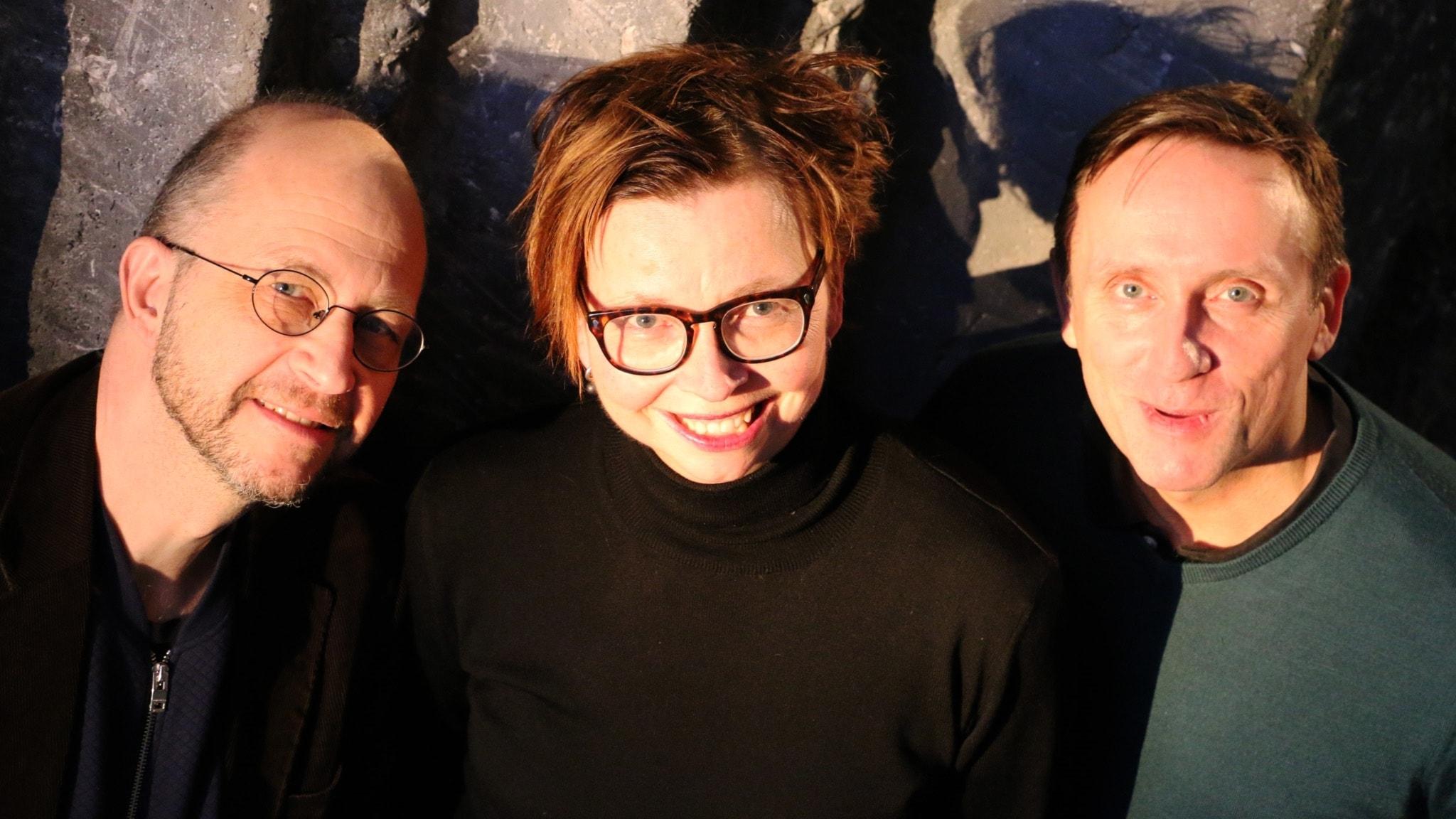 Per Naroskin, Maja Aase och Göran Everdahl