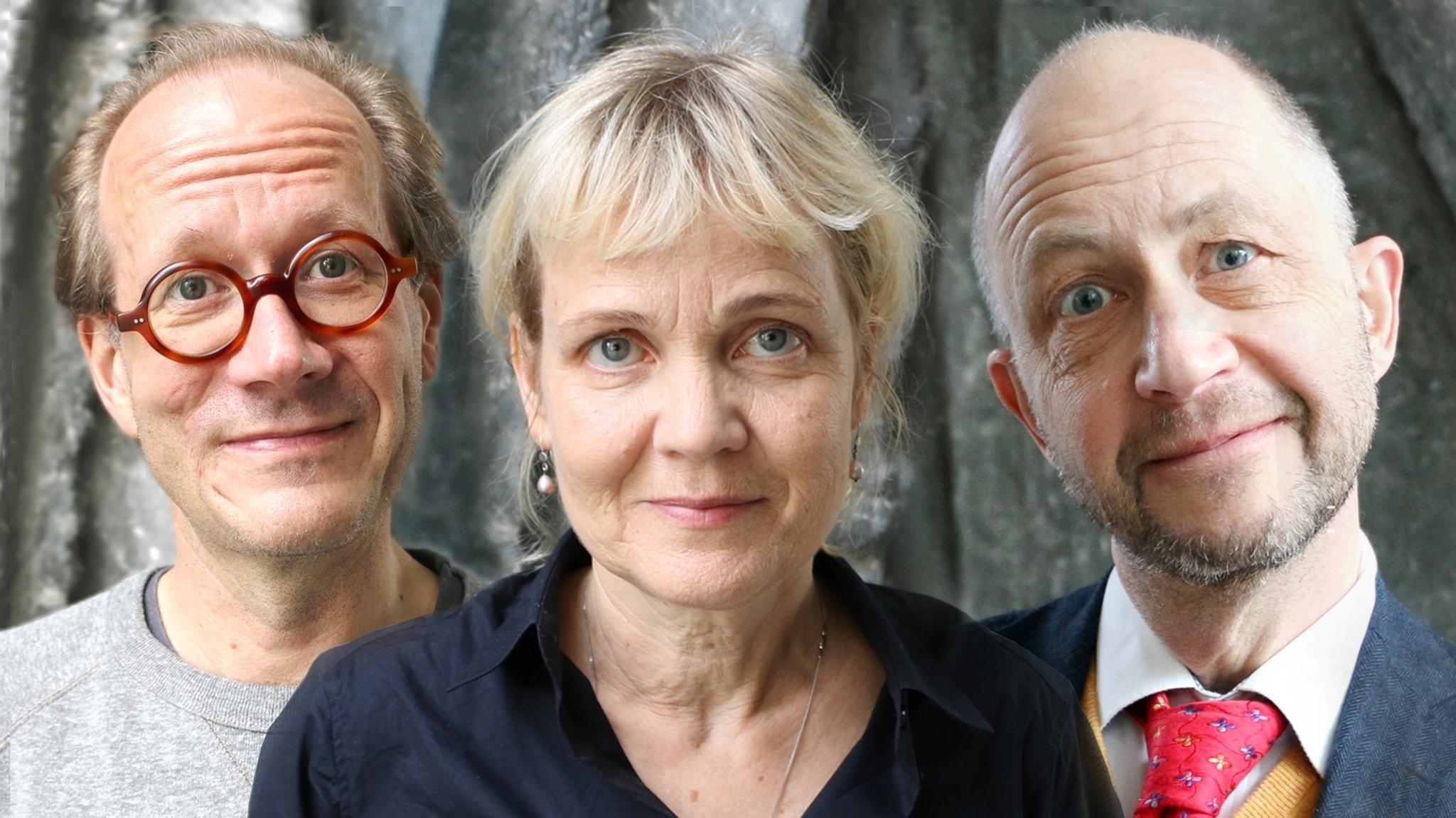 Johan Hakelius, Gabriella Ahlström och Per Naroskin