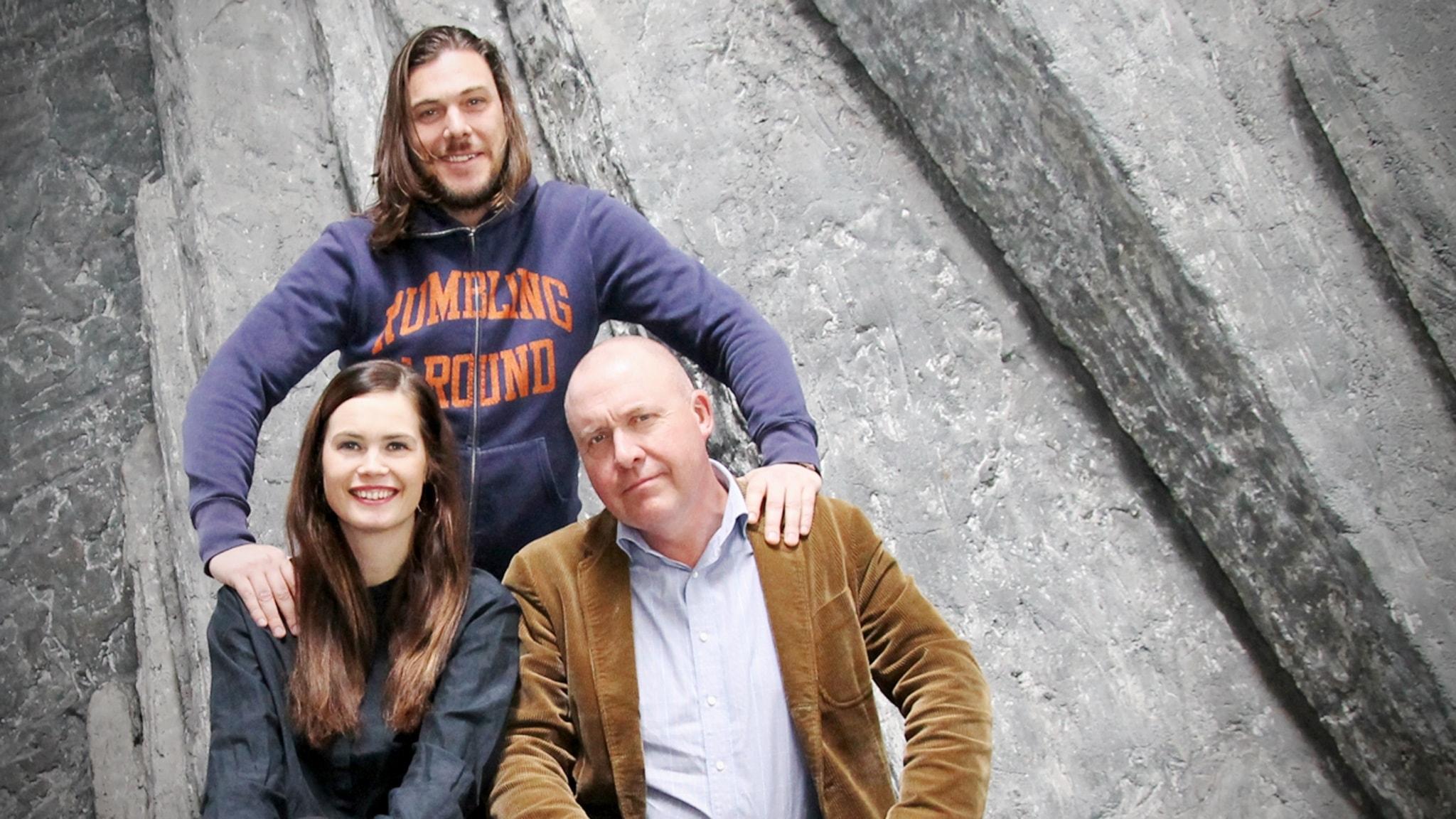Med Jenny Goldkuhl och Alexander Hammarlöf