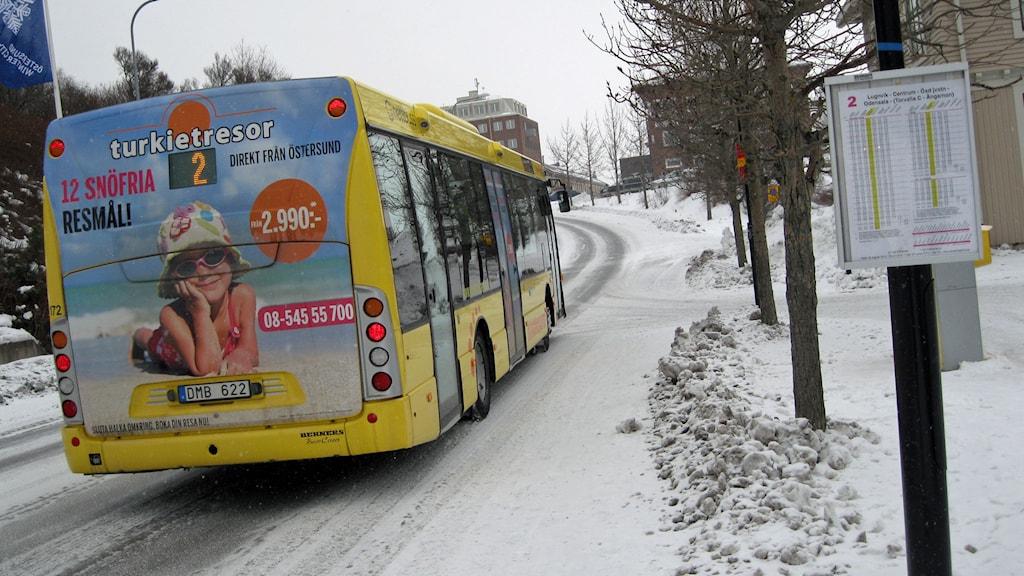 stadsbussarna östersund