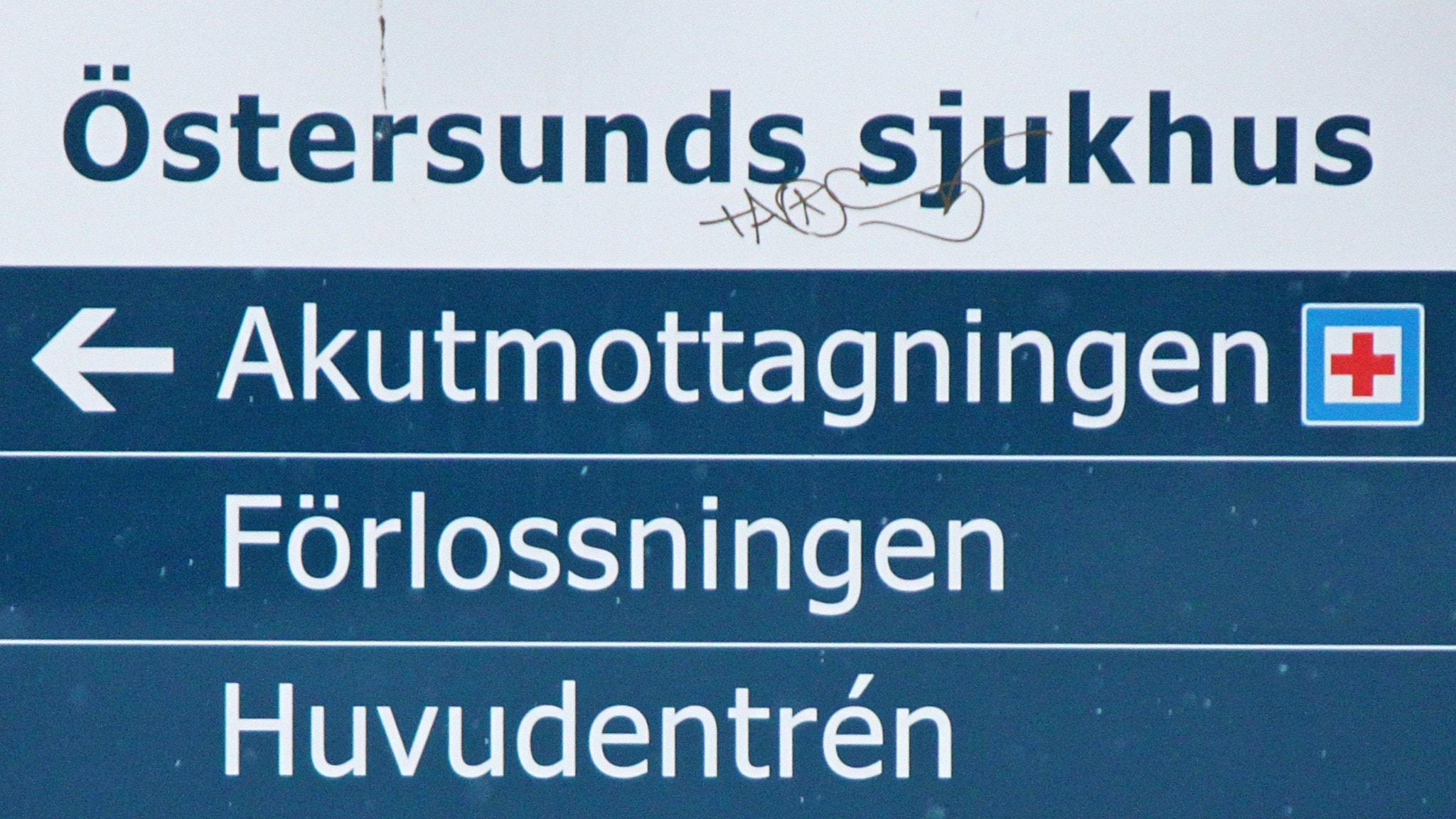 Akutmottagningen tvingades införa stabsläge - P4 Jämtland