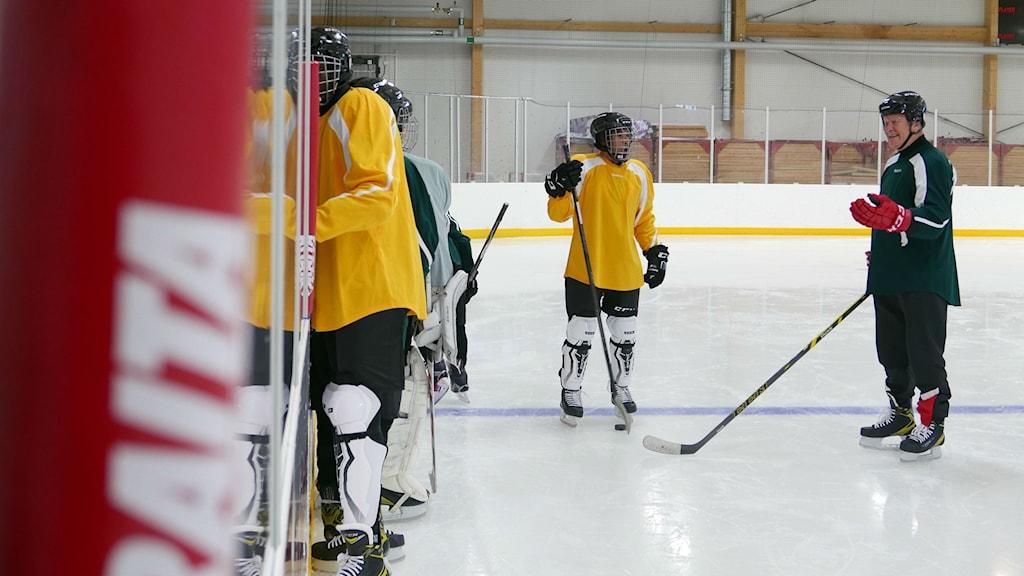 spela ishockey
