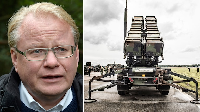 Peter Hultqvist is the minister for defence.