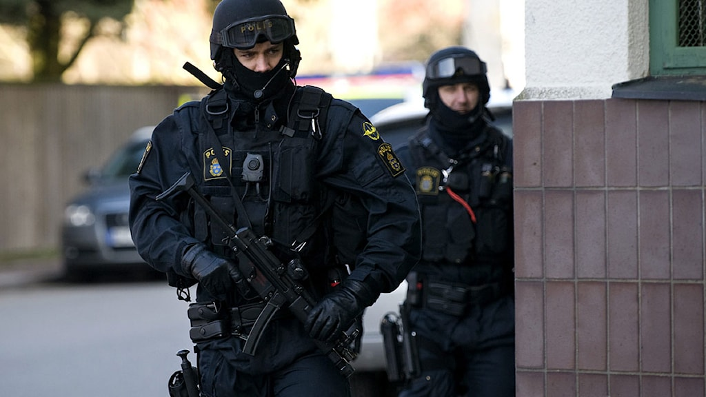 Police say they are ill prepared to deal with a terror attack. Photo: Björn Lindgren/Svanpix/TT