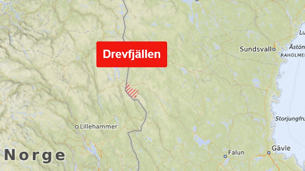 The two are lost somewhere in the Drevfjäll area of Dalarna.