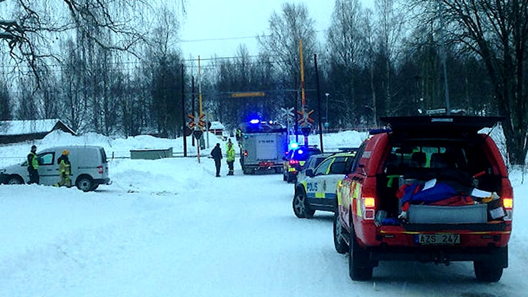 The scene of the accident. Photo: Lennart Sundwall