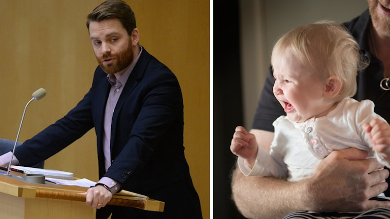 Hans Linde of the Left Party wants to negotiate with the government on the parental leave proposal. Photo: TT