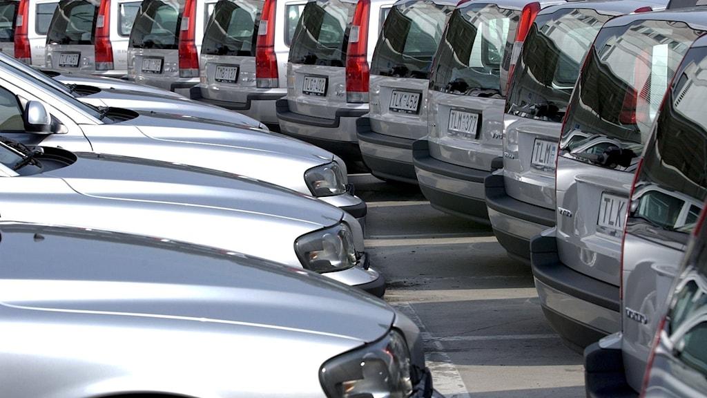 Privatleasing av bilar ökar kraftigt - Nyheter (Ekot) | Sveriges Radio