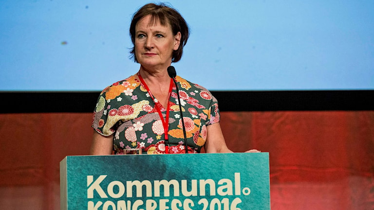 Outgoing general secretary Annelie Nordström could be sued. Photo: Christine Olsson/TT