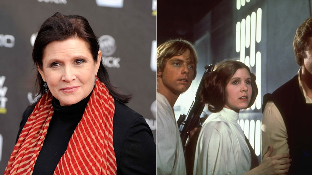 Carrie Fisher i Star Wars