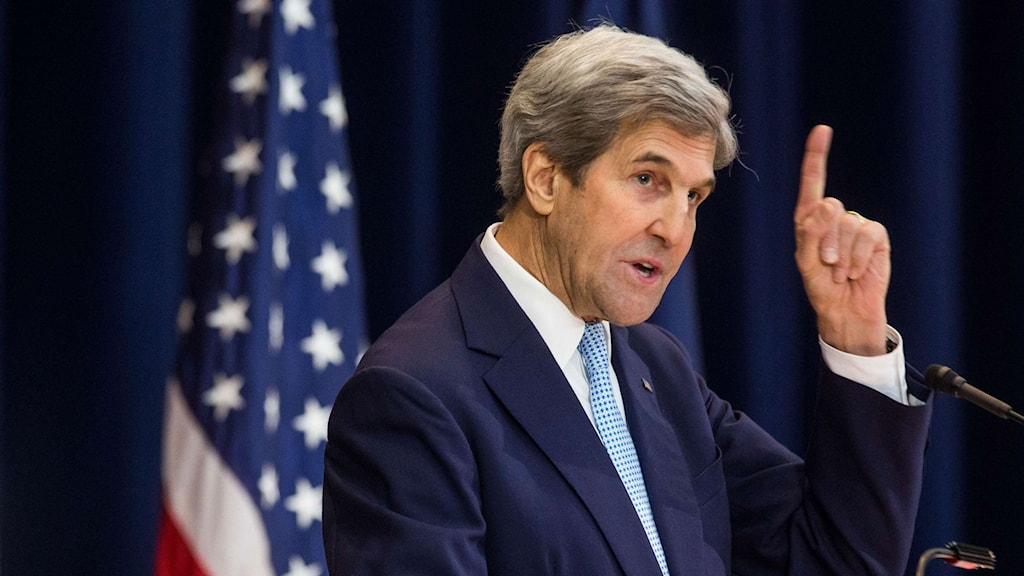 USA:s utrikesminister John Kerry