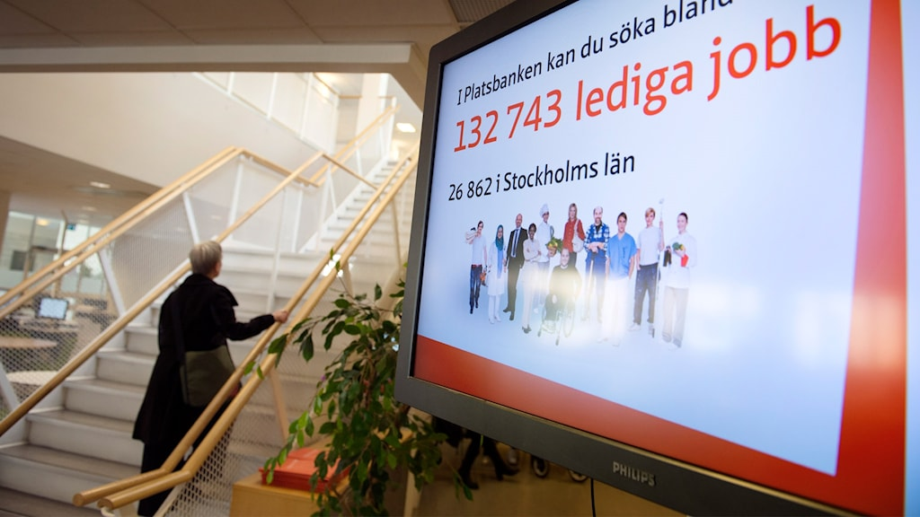 Sweden's employment service published its latest jobs stats on Wednesday.