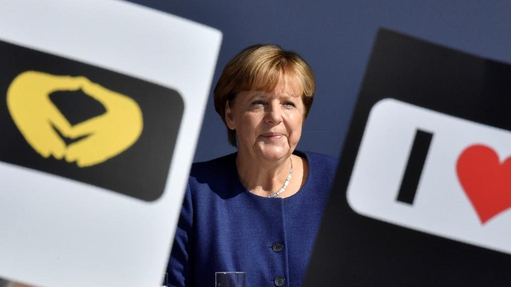 Merkel ser ut att sitta säkert på posten Nyheter (Ekot) Sveriges Radio