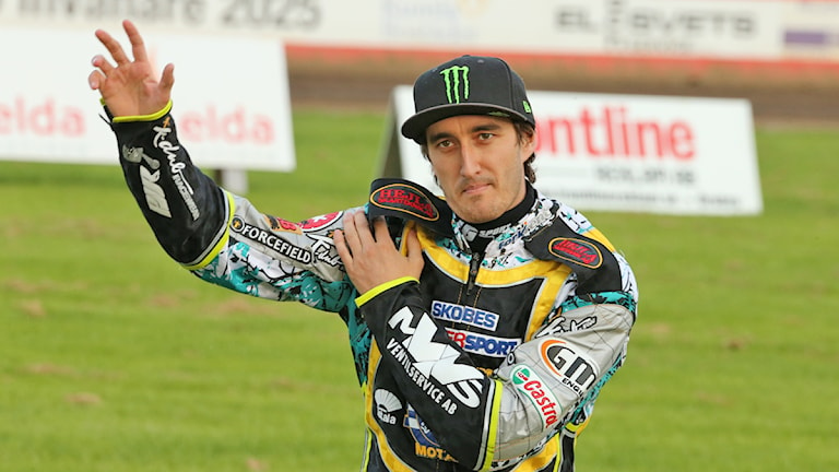 Chris Holder. Foto: Valdemar Andersson/Sveriges Radio