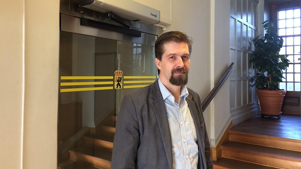 omas Birgegård, beredskapsdirektör Länsstyrelsen i Sörmland
