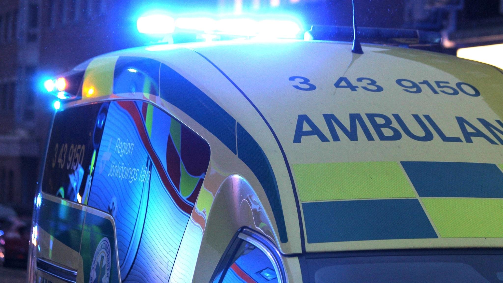 Jag är ambulanssjuksköterska