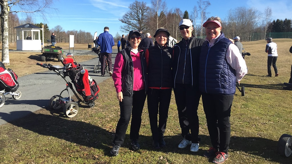 Golf A6 Monica, Ann, Lena, Eva