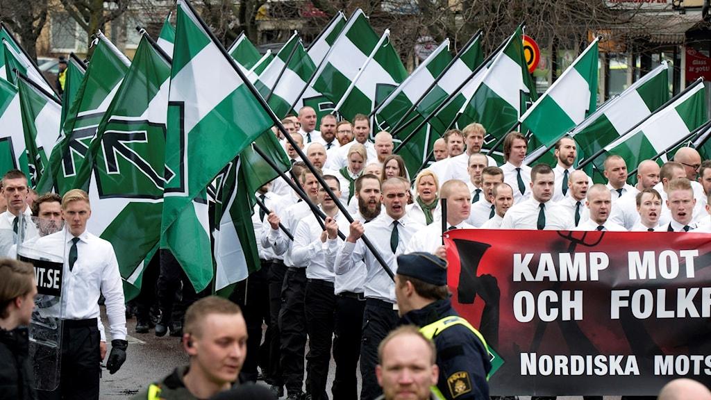 nordiska motståndsrörelsen medlemmar