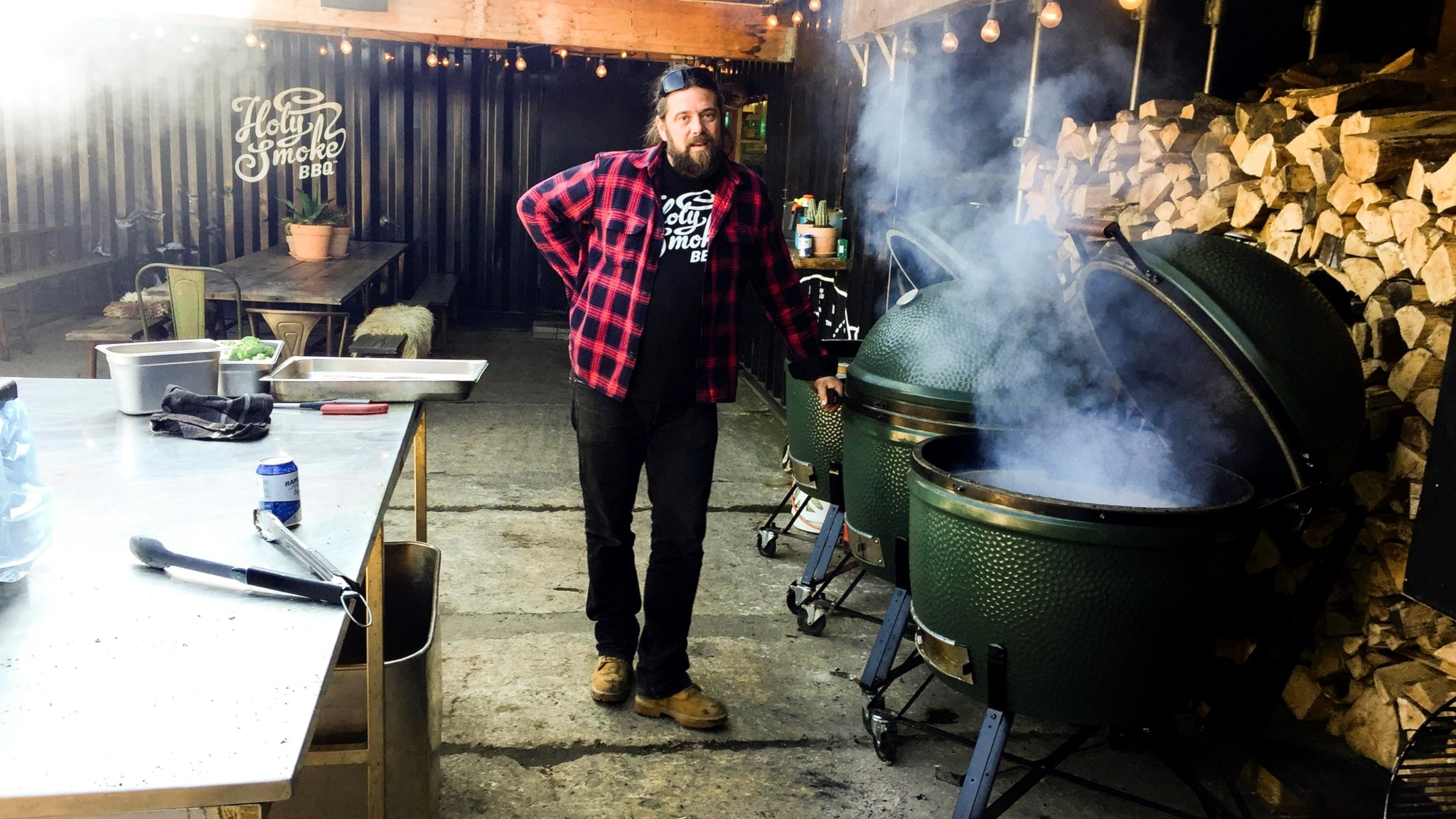 BBQ - Långkok med rök i Skåne, Texas