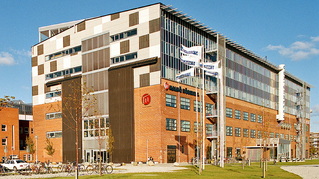 Malmö University is located in one of the relative new builds in the western parts of Malmö Harbour. Photo: Malmö högskola