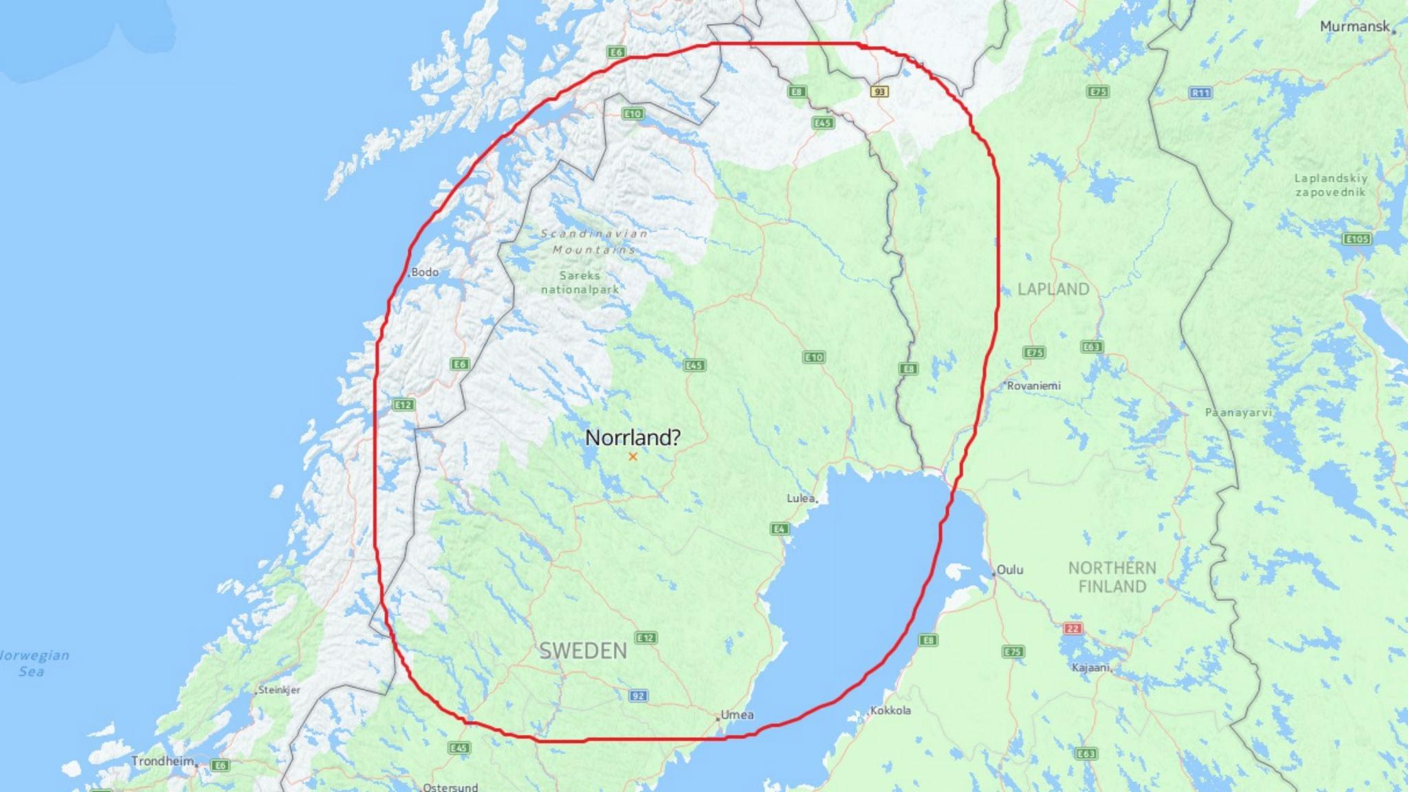 norrland självständigt