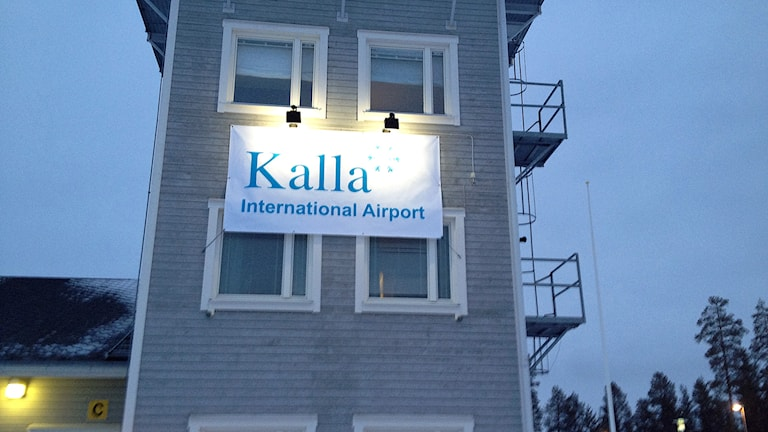 Kalla International Airport. Foto: Pajala Airport.
