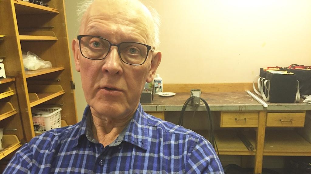 Thomas Lindholm, ordförande Lulnäsets vattenförening