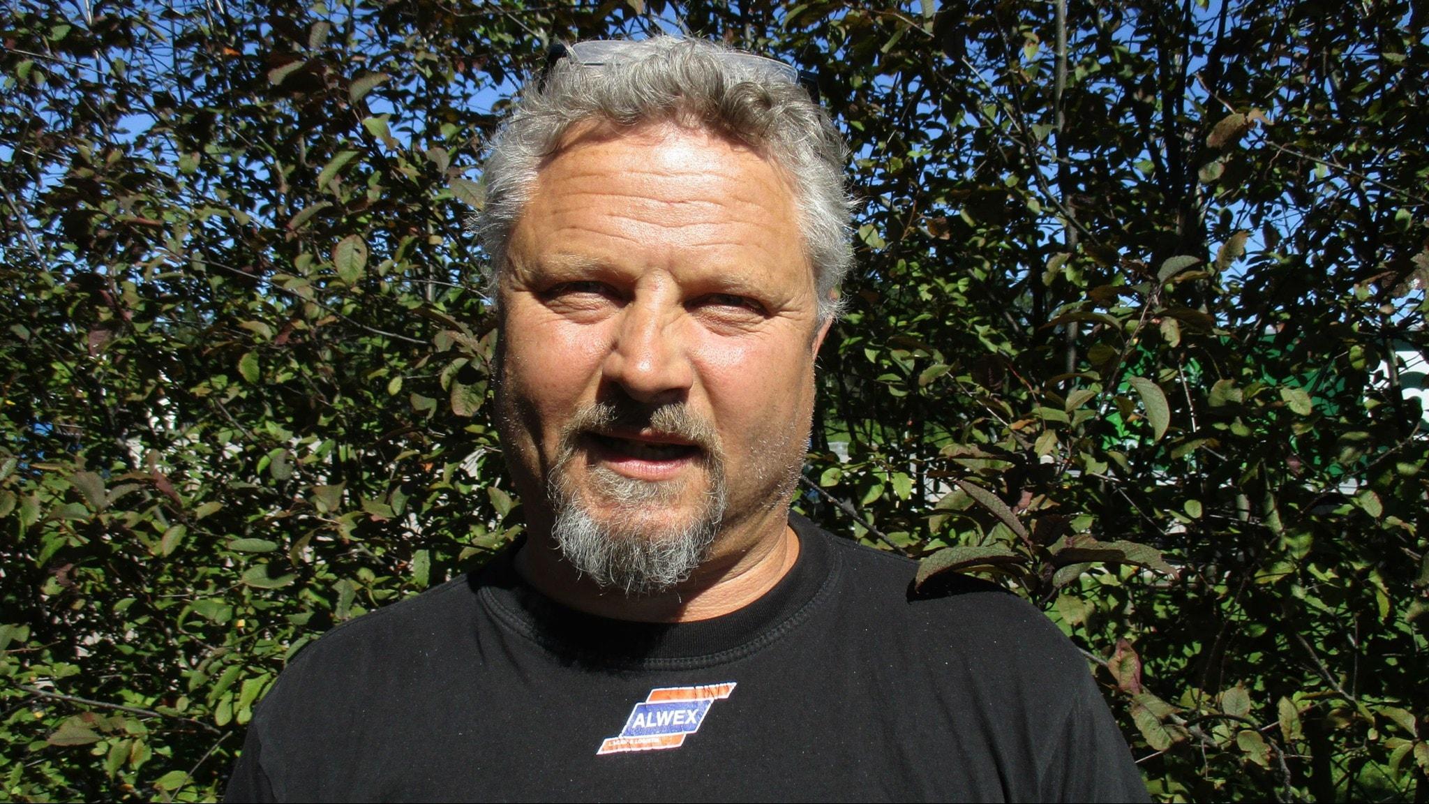 Erkka Petäjä. Kuva Pekka Ranta, Sveriges Radio.