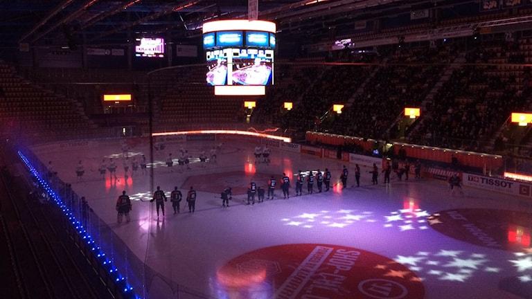 Tiistaina pelattiin ottelu HC71-Sparta Praha Jönköpingissä.