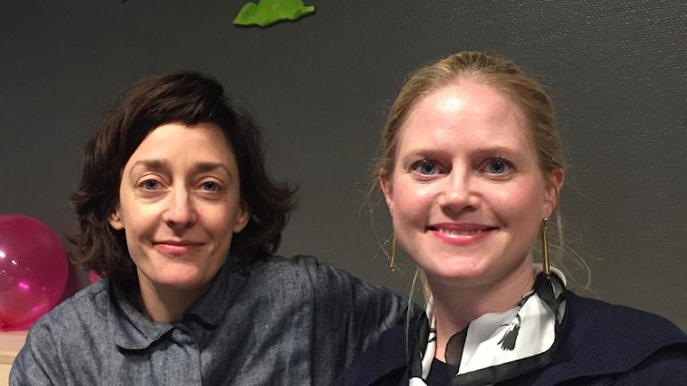 Elisabeth Millqvist från Wanås och Susanne Lindblad från Tjörnedala konst.