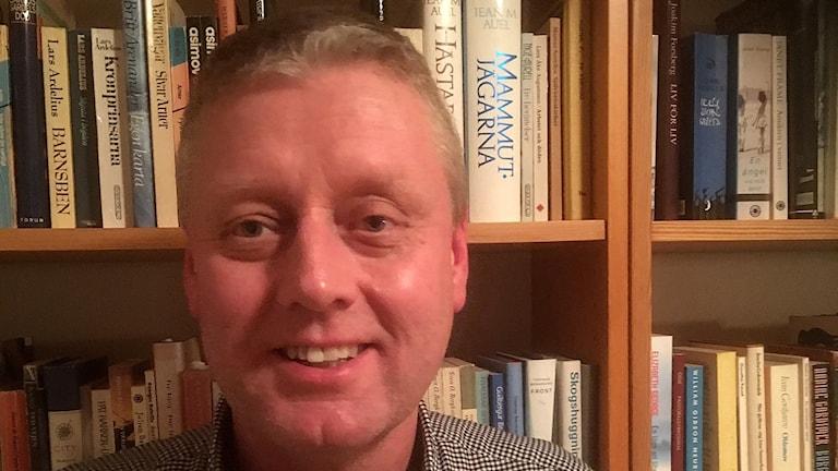 Nils Nilsson, lärare på Söderportgymnasiet i Kristianstad.