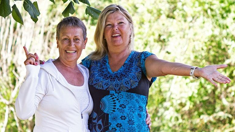 Charlotte Swanstein och Susanne Hellman Holmström
