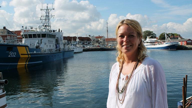 Turistchefen i Simrishamn, Sofie Bredahl, tror att varumärket Österlen blivit så starkt för att man fyllt det med känslor.