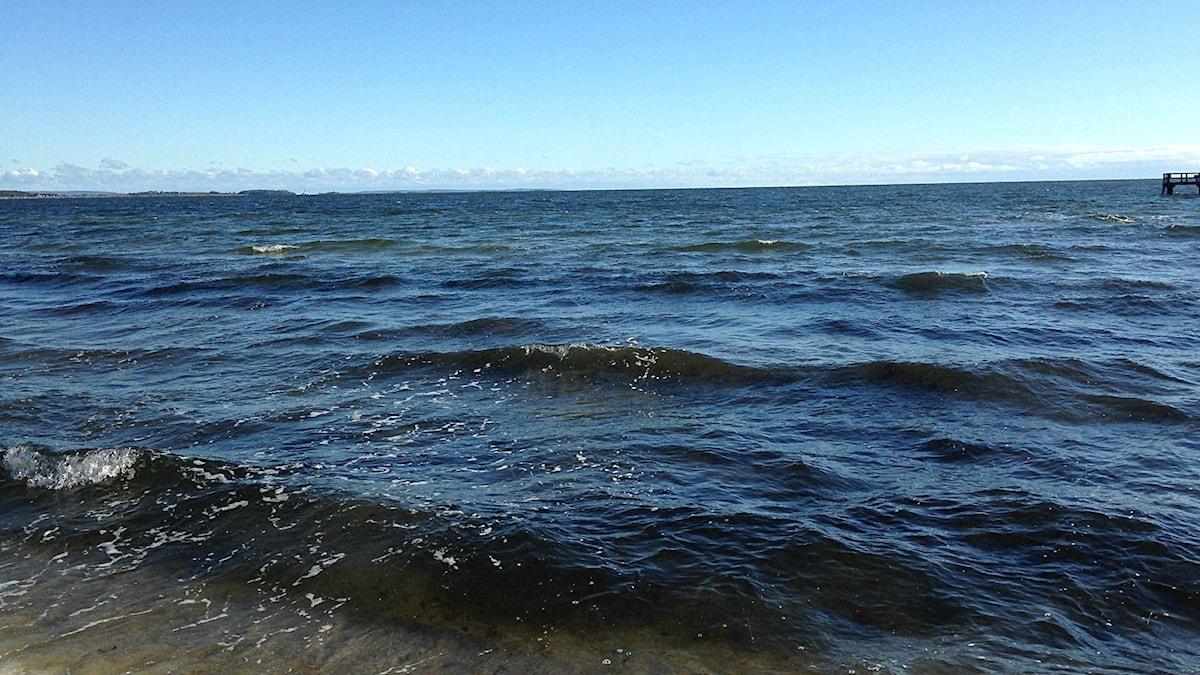 Stranden vid Åhus.