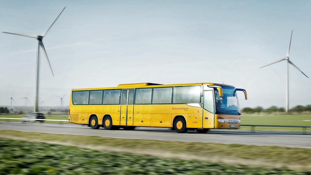 Skånetrafikens regionbuss Foto: Karl-Johan Hjertström/Skånetrafiken