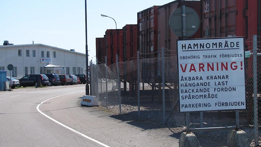 När hamnen byggs om behövs nya infarter. Foto: Karl-Johan Löfgren