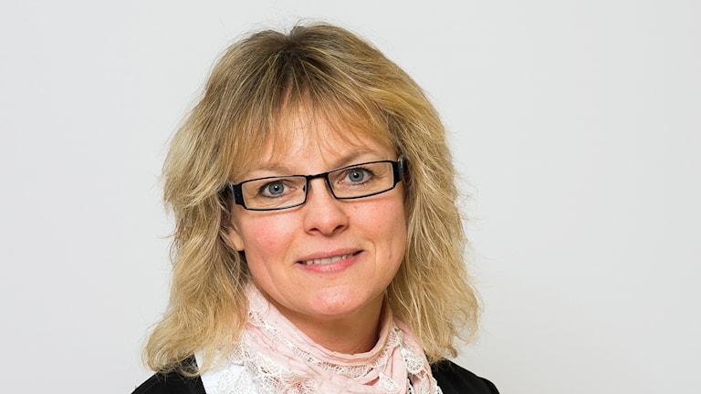 Åsa Erlandsson, regionpolitiker och politisk sekreterare som uteslutits ur SD. Foto: Jens Christian/Region Skåne.
