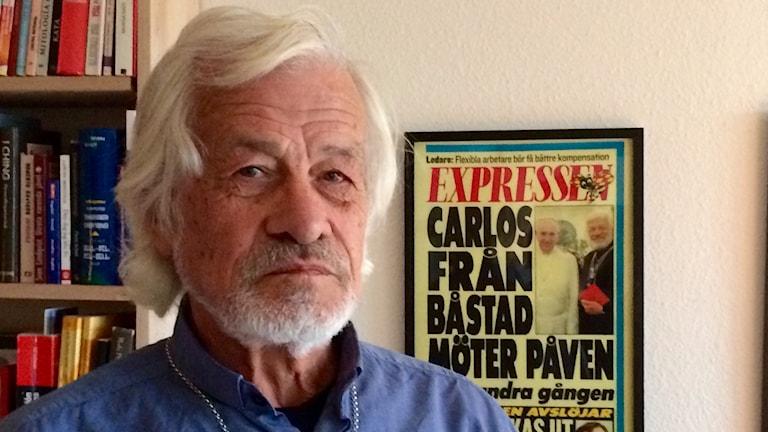 Carlos Luna. Foto: Gunilla Nordström/Sveriges Radio