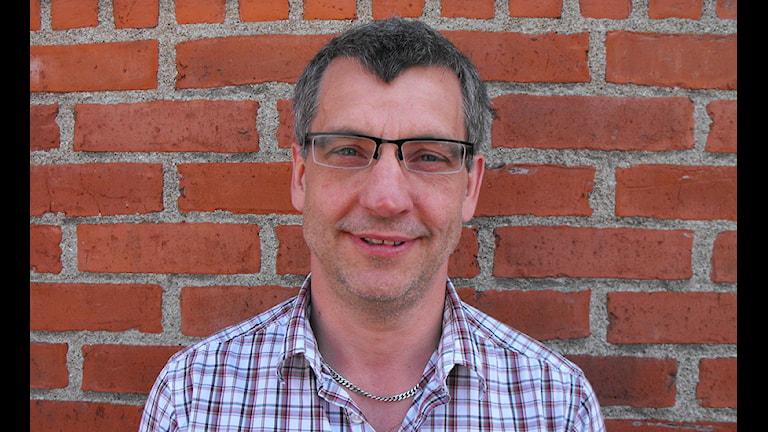 Oppositionsrådet Karl-Erik Olsson (S) i Simrishamn. Foto: Marie Sandgren/Sveriges Radio