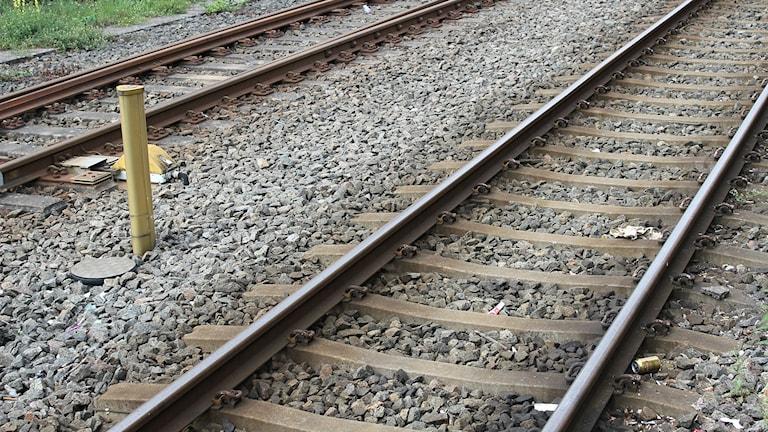 Nu visar siffror värmens påverkan på järnvägsnätet.