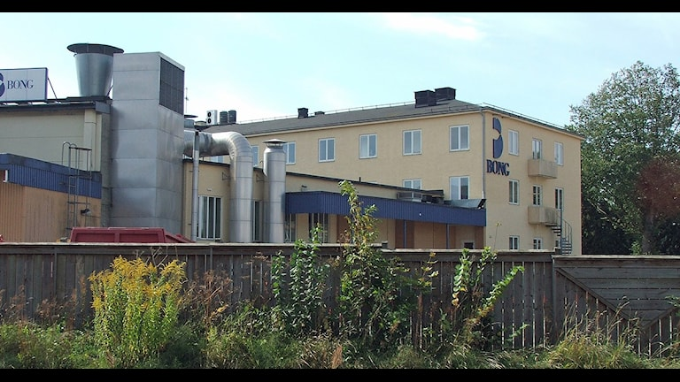 Bongs huvudkontor i Kristianstad. Foto: Magnus Mosén/Sveriges Radio