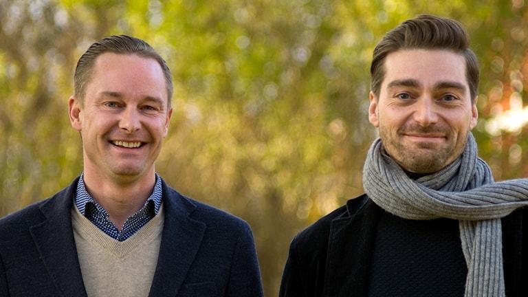 Dan Sandelin och Jesper Elg