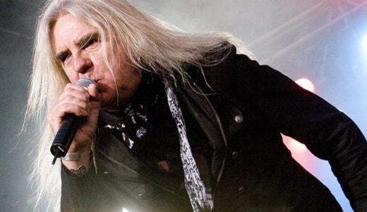 Saxons sångare Biff Byford på Sweden Rock 2008. Arkivfoto: Stina Gullander/Sveriges Radio