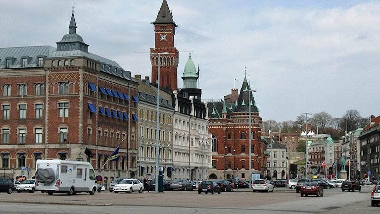 Hamntorget i Helsingborg